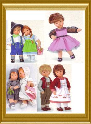 Bilder aus aktuellen Puppenkollektion 2015